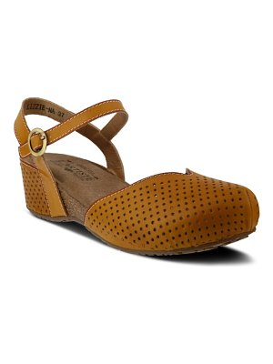 L'Artiste lizzie perforated wedge sandal