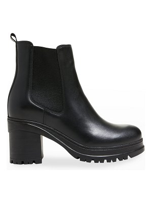 La Canadienne Paxton Leather Lug-Sole Chelsea Booties
