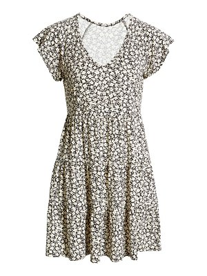 LA LA LAND CREATIVE CO floral print minidress
