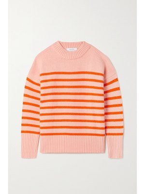 La Ligne marin striped wool and cashmere-blend sweater