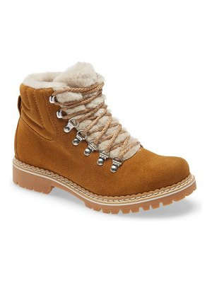 La Montelliana camelia genuine shearling lined boot