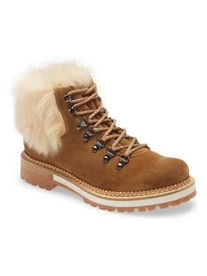 La Montelliana clara genuine shearling boot