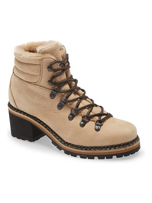 La Montelliana ninfea genuine shearling lined hiker boot