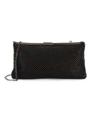 LA REGALE Ball Mesh Clutch