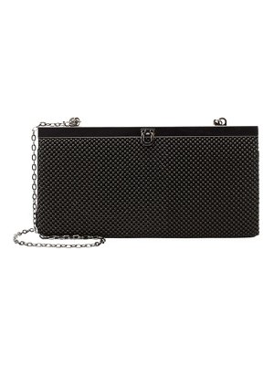 LA REGALE Beaded Mesh Clutch