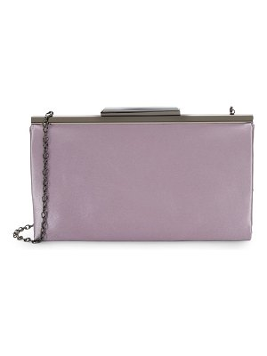 LA REGALE Rectangular Chain Clutch