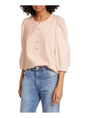 La Vie by Rebecca Taylor balloon sleeve blouse