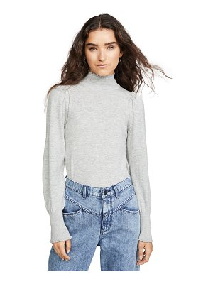 La Vie by Rebecca Taylor cozy cotton turtleneck pullover