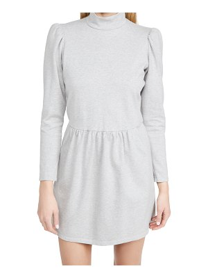 La Vie by Rebecca Taylor long sleeve heather jersey dress