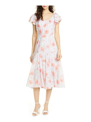 La Vie by Rebecca Taylor louise floral a-line dress