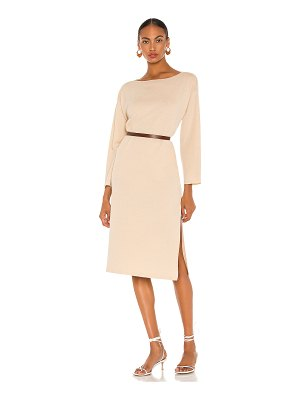 L'Academie milan maxi sweater dress