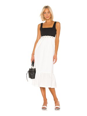 L'Academie the jema midi dress