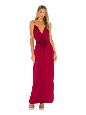 L'Academie the joelle maxi dress