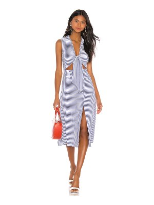 L'Academie the yves midi dress