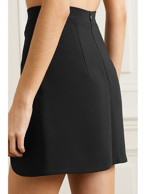 Lado Bokuchava cutout crepe mini skirt
