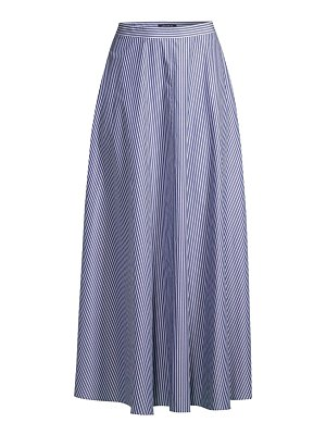 Lafayette 148 New York ambria striped maxi skirt