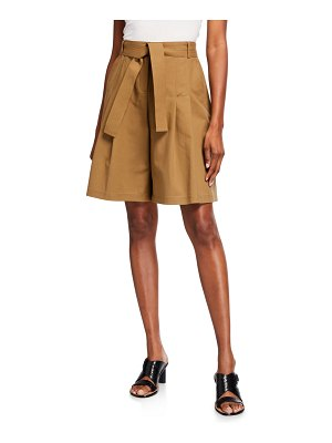 Lafayette 148 New York Arthur Metro Stretch Pleated Shorts