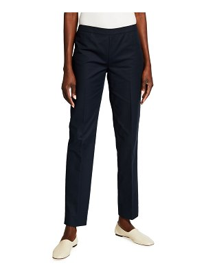 Lafayette 148 New York Bleecker Slim-Leg Ankle Pants