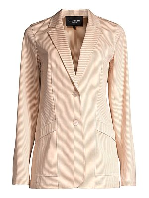 Lafayette 148 New York boston micro stripe blazer