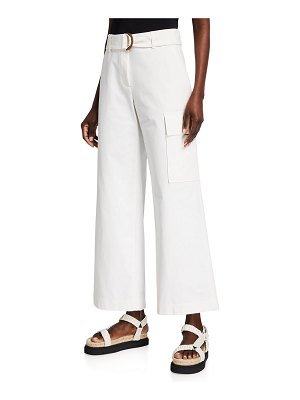 Lafayette 148 New York Broadway Belted Cargo Pant