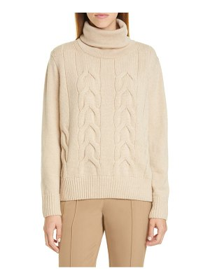 Lafayette 148 New York cable knit cashmere sweater