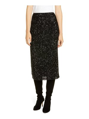 Lafayette 148 New York casey sequin midi skirt