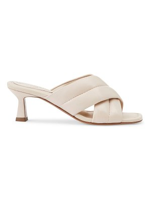 Lafayette 148 New York clarette padded leather mules