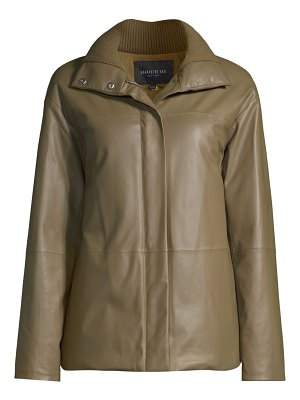 Lafayette 148 New York clayton leather jacket
