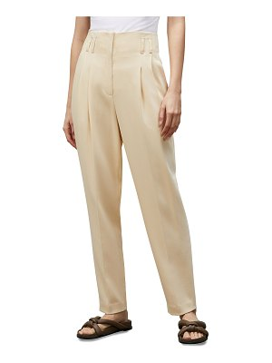 Lafayette 148 New York Degraw Surrealist Double-Face Wool Pants
