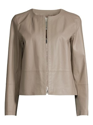 Lafayette 148 New York griffith leather jacket