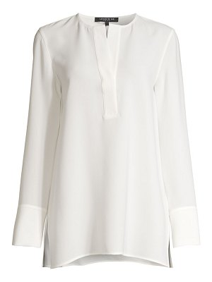 Lafayette 148 New York hayley slit cloud blouse