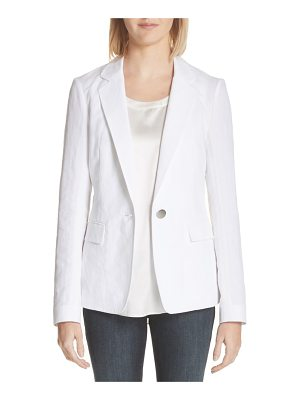 Lafayette 148 New York lyndon courtly cotton & linen jacket