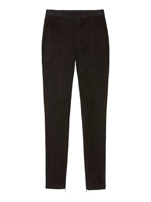 Lafayette 148 New York murray suede skinny pants