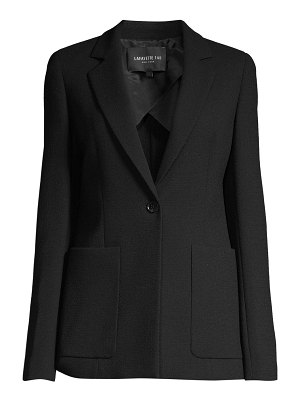 Lafayette 148 New York nazelli textured wool jacket