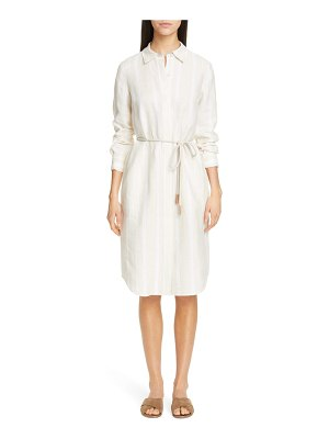 Lafayette 148 New York peggy linen shirtdress