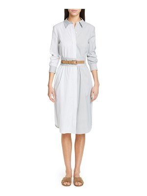 Lafayette 148 New York peggy stripe shirtdress