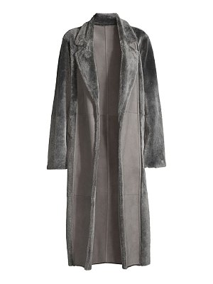 Lafayette 148 New York reversible shearling devonshire coat