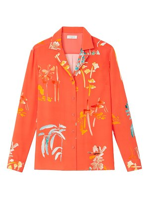 Lafayette 148 New York rigby floral blouse