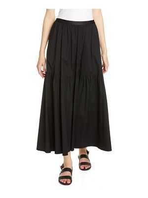 Lafayette 148 New York safford tiered maxi skirt
