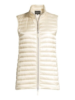 Lafayette 148 New York scout satin tech quilted vest