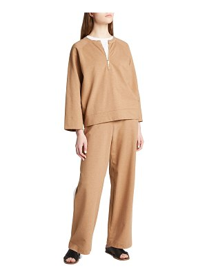 Lafayette 148 New York Webster French Terry Ankle Pants