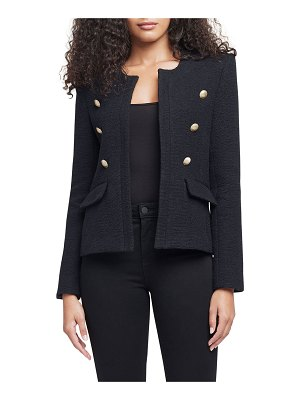 L'AGENCE Effie Open-Front Jacket