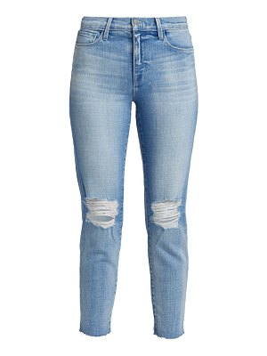 L'AGENCE el matador slim-fit distressed jeans
