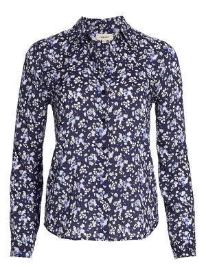 L'AGENCE holly printed floral blouse