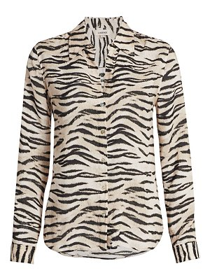 L'AGENCE holly zebra print blouse