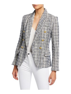 L'AGENCE Kenzie Double-Breasted Blazer