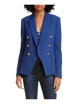 L'AGENCE kenzie double breasted blazer