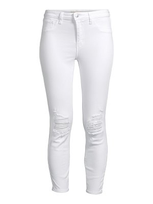 L'AGENCE margot high-rise ankle skinny distressed jeans