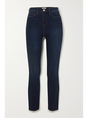 L'AGENCE marguerite cropped high-rise skinny jeans