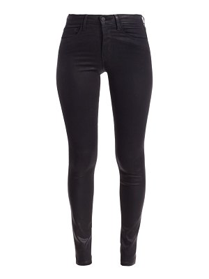 L'AGENCE marguerite high-rise skinny coated jeans